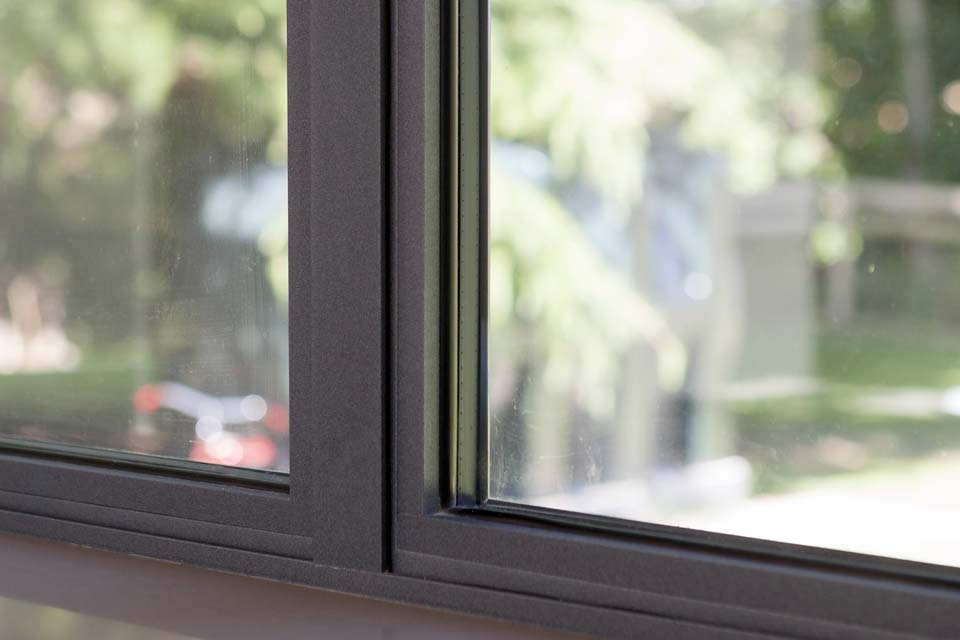 High performance steel replacement windows