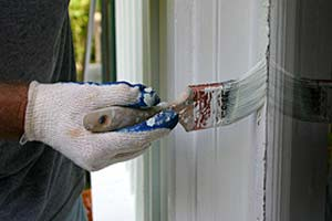 No painting rotting staining