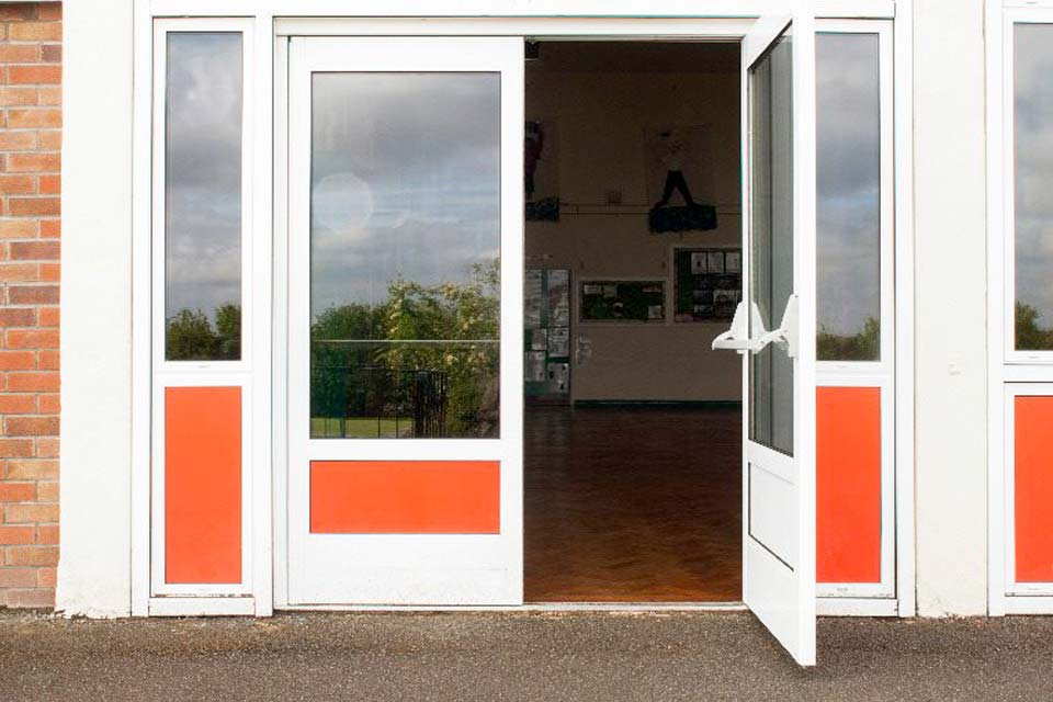 High security shop fronts