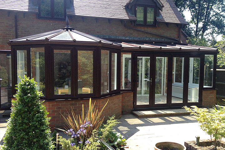 P shaped conservatories crawley