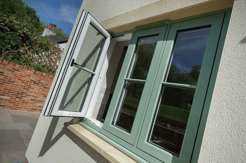 Flush 100 timber alternative windows crawley