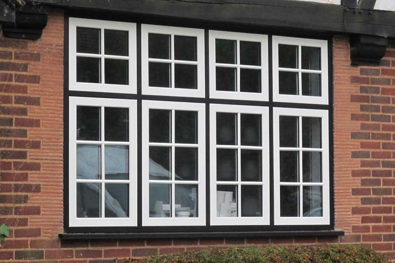 Flush 70 timber alternative windows crawley