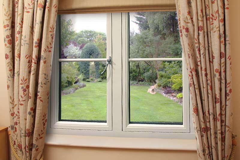 Flush 75 timber alternative windows crawley