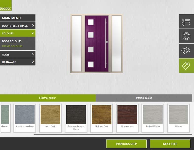 Solidor door designer