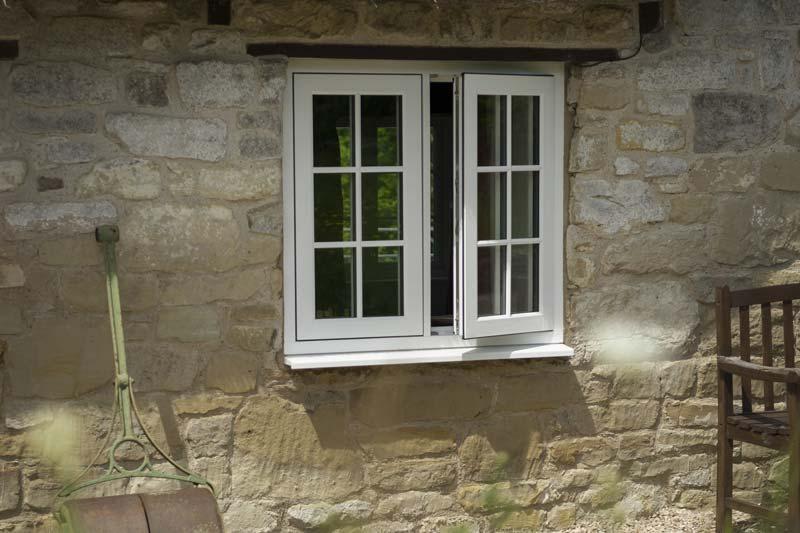 Timber alternative flush windows crawley