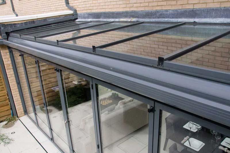 Aluminium lean to roofs crawley