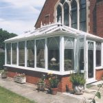 Conservatory by church