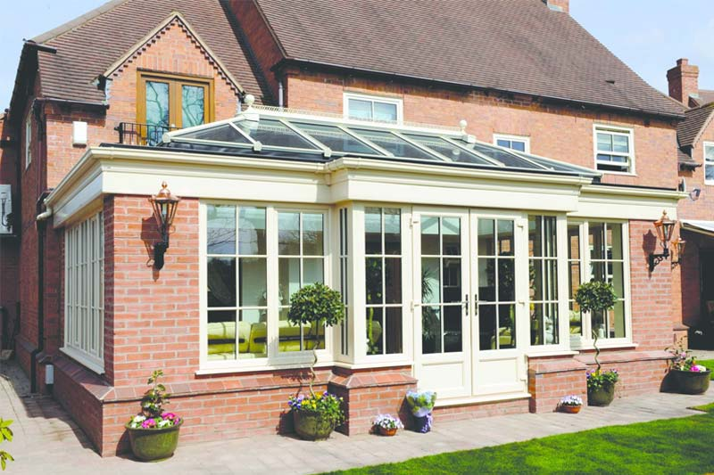 Ultraframe quantal roof system