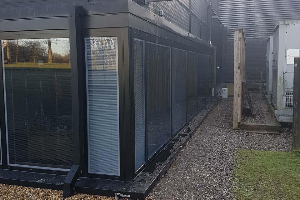 Aluminium windows project west sussex