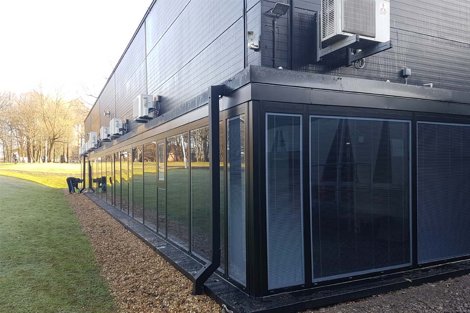Commercial aluminium windows horsham